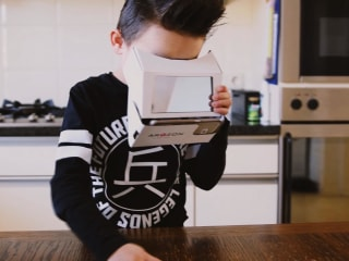 Check Out This $30 Augmented Reality Headset That's Made From Cardboard