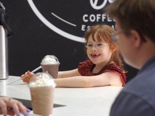 Coffee shop provides jobs for people with disabilities