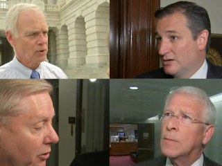 Senate Republicans Weigh in on Pros, Cons of Health Care Bill