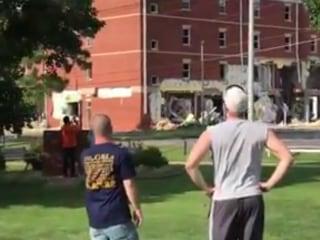 Explosion Damages Murray State University Dorm