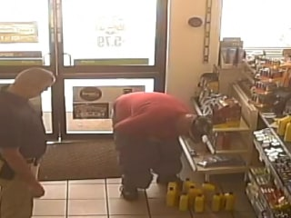 Man Tries to Steal 15 Bottles of Oil in His Pants