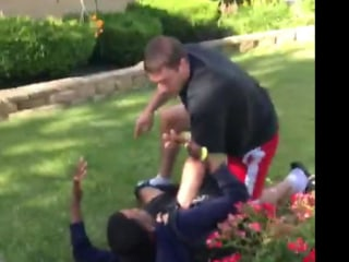 Off-Duty Cop Pins Teen to the Ground for Being on His Lawn