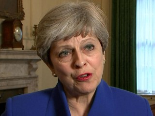 Theresa May: 'I'm Sorry' for Colleagues Who Lost Parliamentary Seats