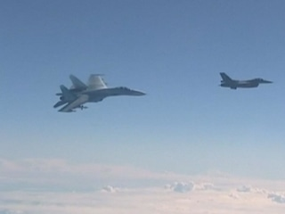 Video Purports to Show Close Encounter Between Russian, NATO Jets