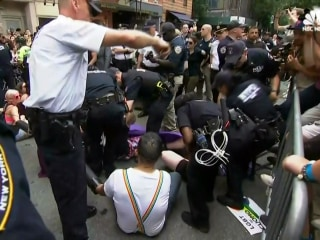 Protesters Were Arrested Outside Stonewall Inn During NYC Pride Parade