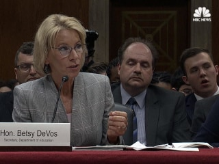 DeVos Refuses to Answer if Federally-Funded Schools Can Discriminate