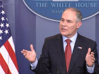 EPA Head Refuses to Answer if Trump Believes in Climate Change