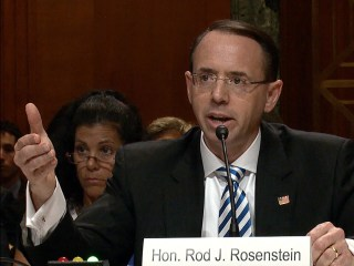 Deputy AG Rosenstein: No 'Good Cause' Present to Fire Mueller