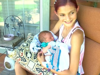 12-Year-Old Delivers Baby Brother