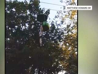 Teen survives fall from Six Flags amusement park ride, caught on video