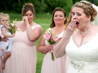 Bride Surprised at Wedding by Man Who Received Her Late Son's Heart