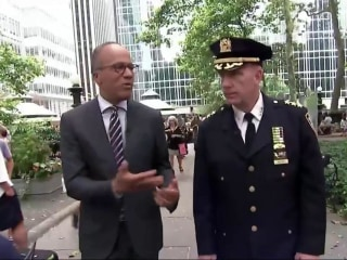Exclusive: Lester Holt Inside NYPD's Critical Response Command
