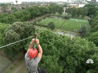 This London Zip Line is Touted as Fastest in a Major City Center
