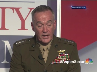"U.S. Gen. Dunford Says Military Option for NK Not ""Unimaginable"""
