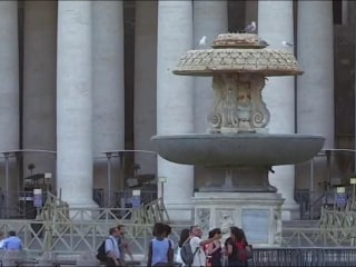 Vatican turns off its historic fountains due to drought in Italy