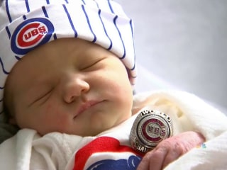 Baby Boom Hits Chicago After Cubs' World Series Win
