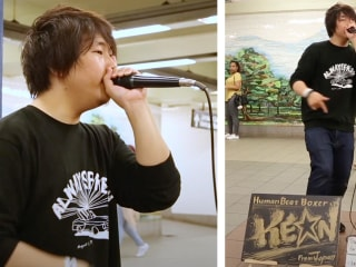 Japanese Beatboxer Chased His Passions to NYC