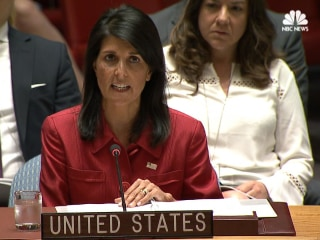 Haley Condemns North Korea's 'Reckless and Irresponsible' Missile Launch