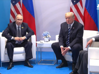 Trump and Putin Offer Comments Before Their G20 Meeting