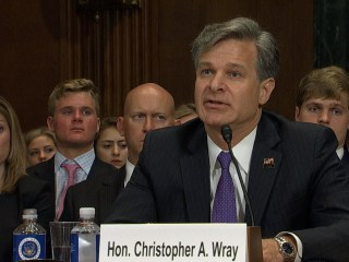 FBI Nominee Wray Pledges 'Strict Independence' From Political Influence