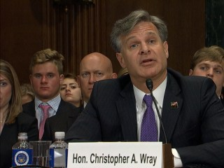 FBI Director Nominee Wray: Russia Investigation Not a 'Witch Hunt'