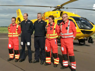 Prince William Set to Pilot Last Shift With Emergency Rescue Team