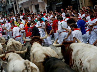 Three Gored During First Running of the Bulls of 2017