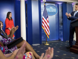 Scaramucci Announces Sarah Huckabee Sanders as New Press Secretary