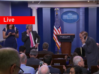 WATCH LIVE: White House briefing in wake of Sean Spicer's resignation