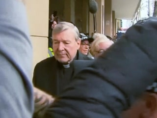 Pope Francis adviser Cardinal Pell appears in court on sexual abuse charges