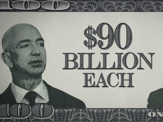 Jeff Bezos briefly overtakes Bill Gates as world's richest person