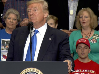 Watch Live:  President Trump Honors 1st Responders