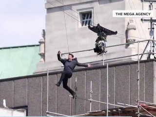 Tom Cruise Broke His Ankle Doing 'Mission: Impossible' Stunt