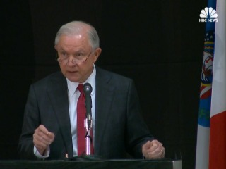 Sessions Announces New DOJ Unit to Combat Opioid Fraud