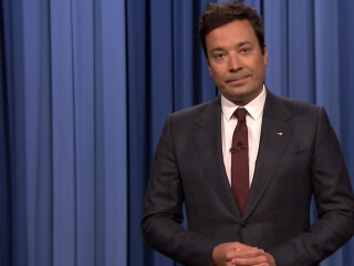 Fallon in Emotional Charlottesville Monologue: 'We Can't Go Back'
