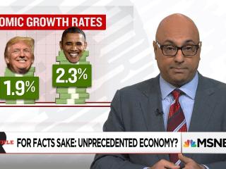 "Trump's ""Unprecedented"" Economic Growth?"