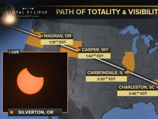 Watch Live: Total Solar Eclipse
