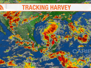 Tropical Storm Harvey threatens Gulf Coast