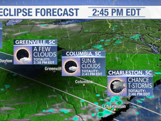 Eclipse forecast: Ideal in Oregon, but rain in Midwest