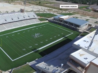 Get a first look inside $70 million Texas high school football stadium