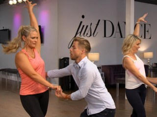 Watch Megyn Kelly and Derek Hough fulfill a mom's dream of dancing