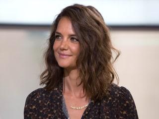 Katie Holmes Talks About 'Logan Lucky,' Suri at 11