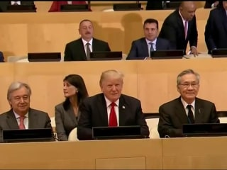 Trump Meets With World Leaders at U.N. Assembly
