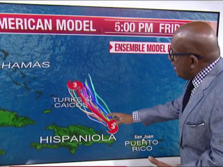 Hurricane Maria bears down on Turks and Caicos