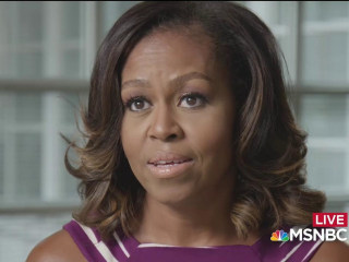 Michelle Obama vows to continue fight for girls education
