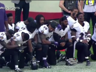 In London NFL Game, Players Kneel During National Anthem