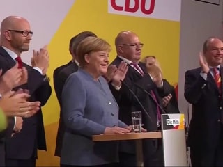 German Elections: Merkel Wins Fourth Term as Far-Right Enters Parliament