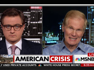 'This is not the finest hour of the United States government' - Sen. Bill Nelson