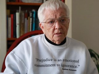 Anti-Racism Educator Jane Elliott: 'There's Only One Race. The Human Race'