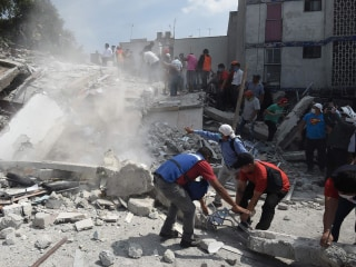 Mexico 7.1 Quake: 'Horrific Images' Emerge from Aftermath